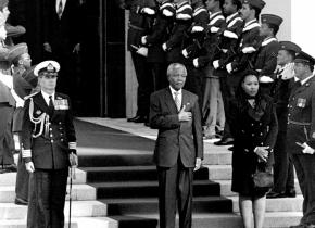 Mandela  Opens Parliament, 1994