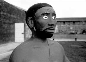 Prison Statue, Robben  Island