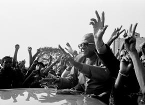 Tutu in Seboking, 1990